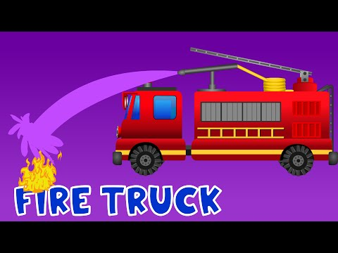 Pemadam Kebakaran Untuk Balita | Video Mainan Untuk Anak-anak | Video Truk Anak-anak
