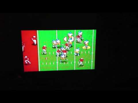 Joe Montana Sports Talk Football-Try to beat this score!!