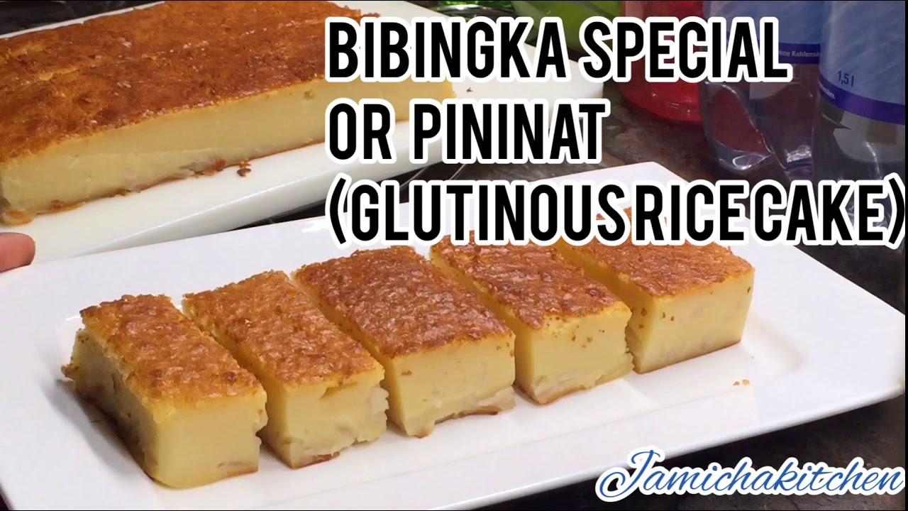 Glutinous Rice Cake / Bibingkang Malagkit/ English Subtitle