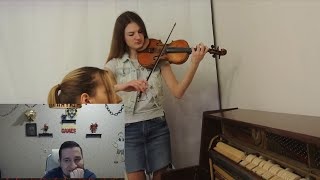 Манурин слушает: Сектор Газа - Лирика | кавер на скрипке и пианино (violin piano)