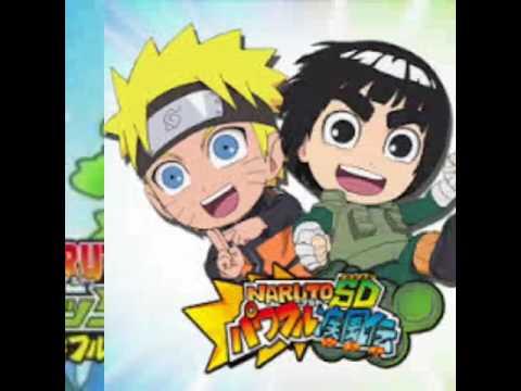 Naruto SD Rock Lee opening 1