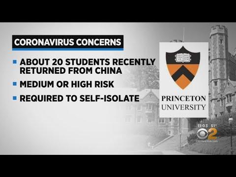 20 Princeton Students Self-Quarantine Over Coronavirus Fears
