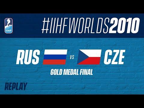 Russia V Czech Republic - Gold Medal Final From Worlds 2010 | #IIHFWorlds