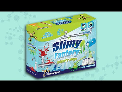 Science4you UK - Slimy Factory slippery slugs