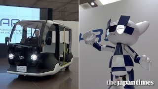 Toyota's Olympic robots and vehicles for Tokyo 2020