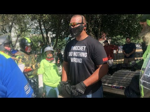 Portland Protest Shows New Far-Right Trend: Multiethnic Groups with Fascist Heroes Like Pinochet