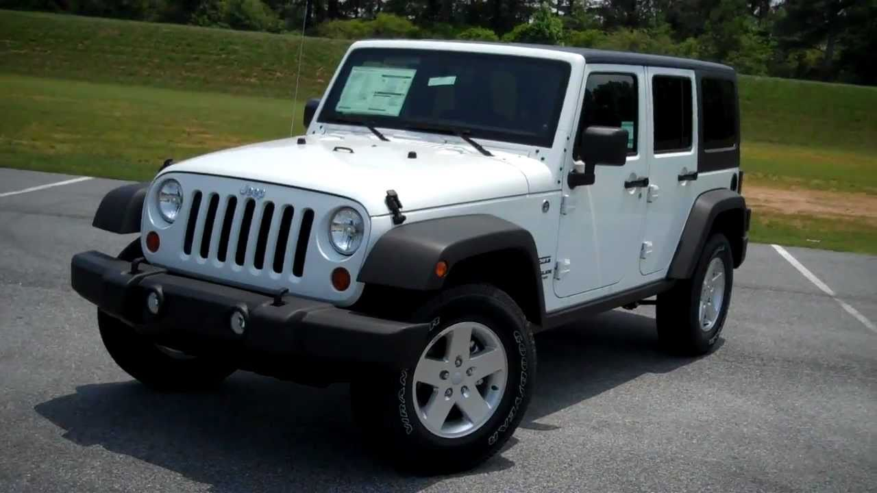 New 2011 Jeep Wrangler Unlimited Sport At Troncalli Chrysler Jeep Dodge In  Cumming, GA   YouTube