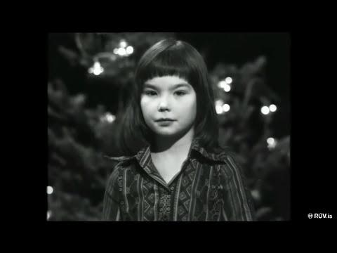 Björk/Bapsi - Reads Nativity Story @ Children's Music School, Reykjavík, Iceland, (1976)
