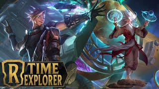 Time Explorer Gets Ammunition From The Past - Zilean Ezreal Deck   Legends of Runeterra - Patch 2.7