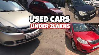 Cars under 2 Lakhs | Ford Fiesta | Maruti Suzuki Estilo | SX4 | Alto | Chevrolet | Fahad Munshi |