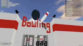 Roblox a Short Film : At the Bowling Alley