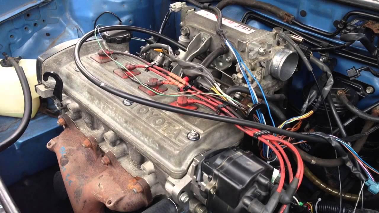 5e-fe Engine In  U0026 39 94 Tercel - First Tests