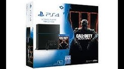 UNBOXING PS4+ BLACK OPS 3