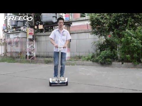 Мини скутер Mini Segway F1 самобалансиращ зареждане до 2 часа FOC механизъм 11