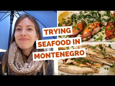 Montenegrin Food Review - Eating local seafood dishes in Kotor, Montenegro