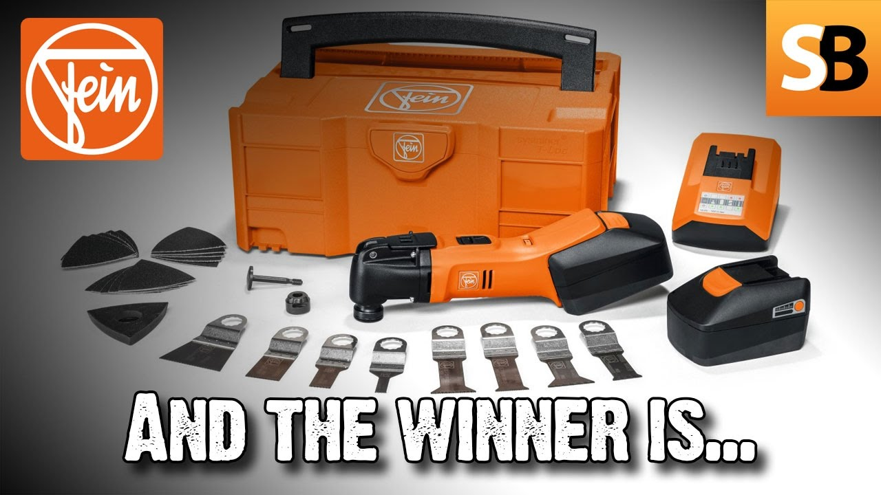Fein SuperCut 18v winner announced - Skill Builder