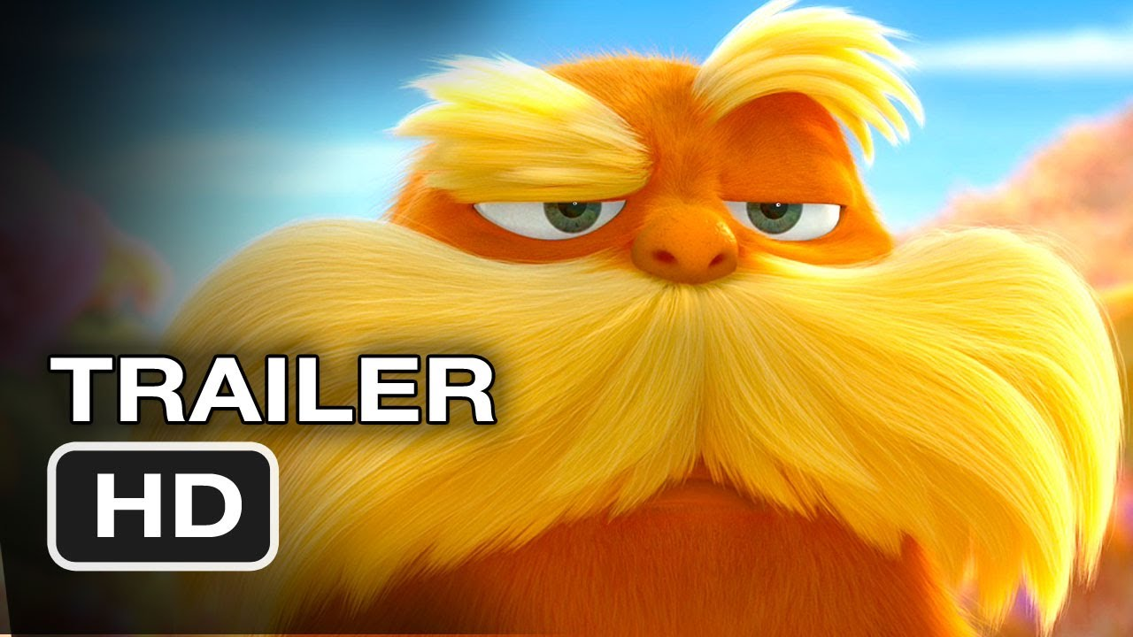 Dr Seuss Wallpaper Quotes Dr Seuss The Lorax 2012 Exclusive Trailer Hd Movie