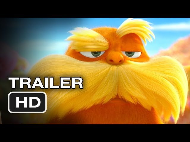 Dr. Seuss' The Lorax (2012)  EXCLUSIVE Trailer - HD Movie