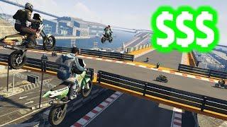 GTA 5 MAKING MONEY IN CUNNING STUNTS DLC