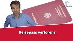 Reisepass verloren -  Was jetzt? | Rechtsanwalt Dr. Achim Zimmermann