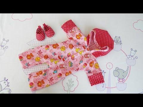 Как сшить комбинезон для куклы беби бон своими руками