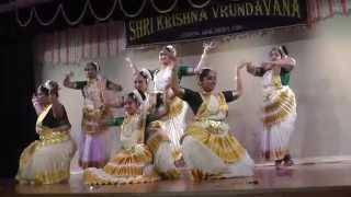 Kalavanikal Padi  by sowparnika dance @ Krishna Vrindavan  Temple