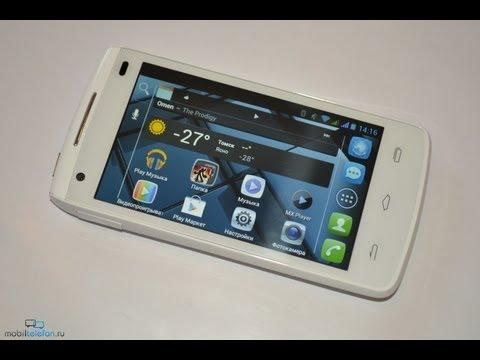Обзор Alcatel One Touch 992D (review): дизайн, ПО, игры, тесты