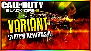 *OMG* WEAPON VARIANTS COMING TO BLACK OPS 4 - SIGNATURE, MASTERCRAFT VARIANTS & MORE! (BO4 VARIANTS)