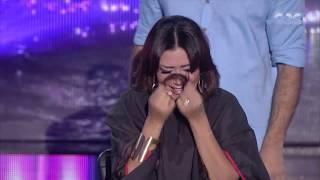 الليلة دي | شاهد .. رد فعل رانيا يوسف بعد قص شعرها علي الهواء