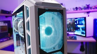 THE ULTIMATE AIRFLOW PC!! Ryzen 7 2700X + GTX 1080 Ti