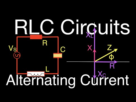 RLC Circuits (12 of 14) Series RLC; Calculating Impedance, Current and Voltage