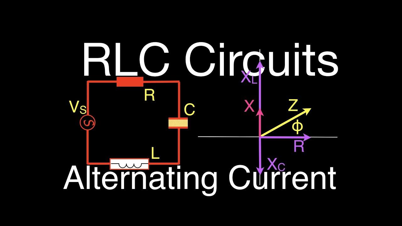 Rlc Circuits 12 Of 14 Series Calculating Impedance Current Parallel Part 5 Solving For Voltage And