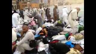 مآساة ضياع وسرقة متعلقات الحجاج والمعتمرين داخل المسجد الحرام