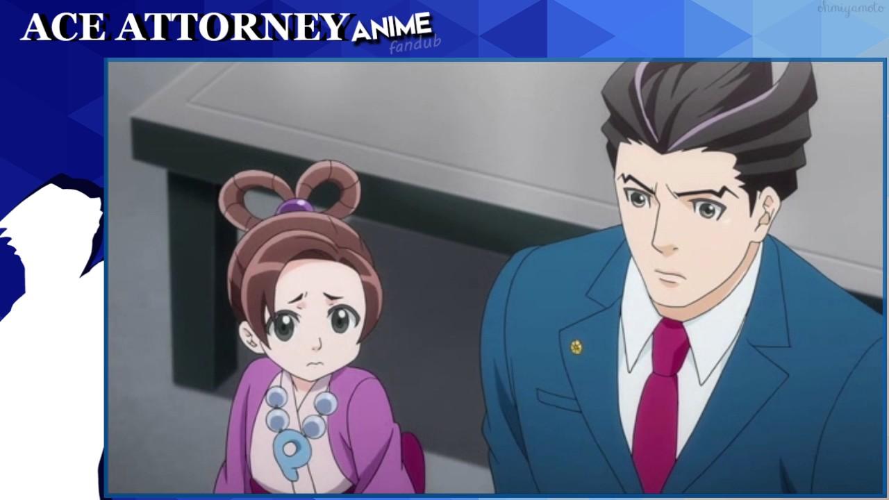 Ace attorney anime shelly de killer english fandub