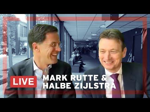 Mark Rutte en Halbe Zijlstra beantwoorden LIVE vragen op het VVD congres.