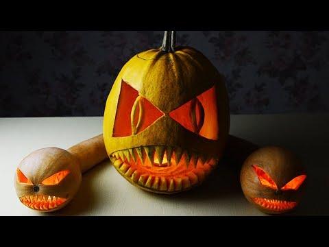 How to Carve Halloween Pumpkins