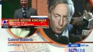 Cardiólogo Revela Parte Médico Sobre Muerte De Nestor Kirchner