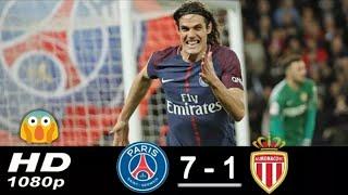 Psg vs Monaco - (7-1) - Hasil Bola Tadi Malam 15/4/2018