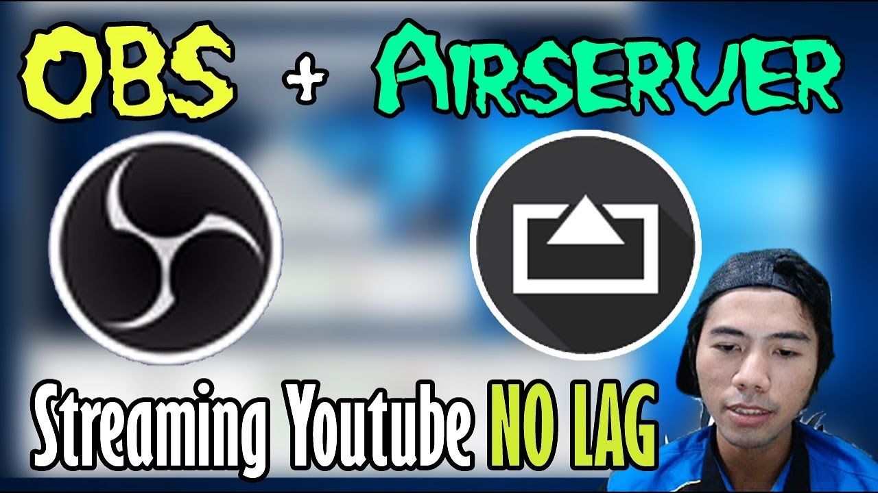 Tutorial Live Streaming Youtube Obs Airserver Mirroring Android