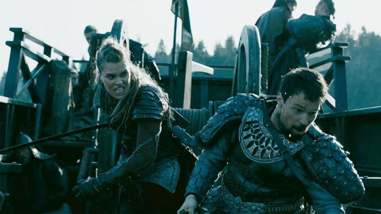 Download Vikings - Ivar & Oleg vs Gunnhild   River Battle (6x10) [HD]