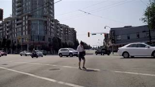 Driving in Vancouver Canada - KNIGHT Street - Route to Richmond BC - City Tour