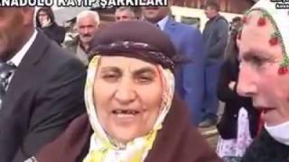 Şenkaya yoğurtcular köyü ablamızdan unutulmuş  türkülerimiz... video:foto yusuf akşar..