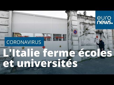 #Coronavirus l'Italie passe la barre des 100 morts ; écoles et universités fermées