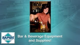 Bar And Beverage Supplies Ordering From Rapidswholesale.com