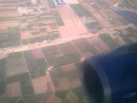 """A320 LANDING BURG EL-ARAB AIRPORT """"HEBA"""""""