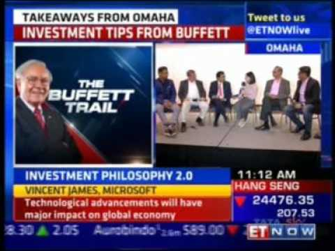 Takeaways from Omaha in a panel with Mr. Raamdeo Agarwal on ET Now