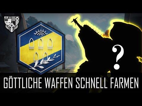 "Destiny ""GÖTTLICHE WAFFEN FARMEN!"" - Waffenmeister Rang Leveln (German/Deutsch) [HD]"