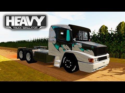 MODIFICANDO CAMINHÃO BRASILEIRO E REBAIXANDO - Heavy Truck Simulator (G27)