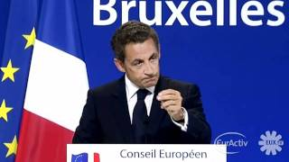 Roma: Sarkozy defends French EU Affairs Minister Pierre Lellouche