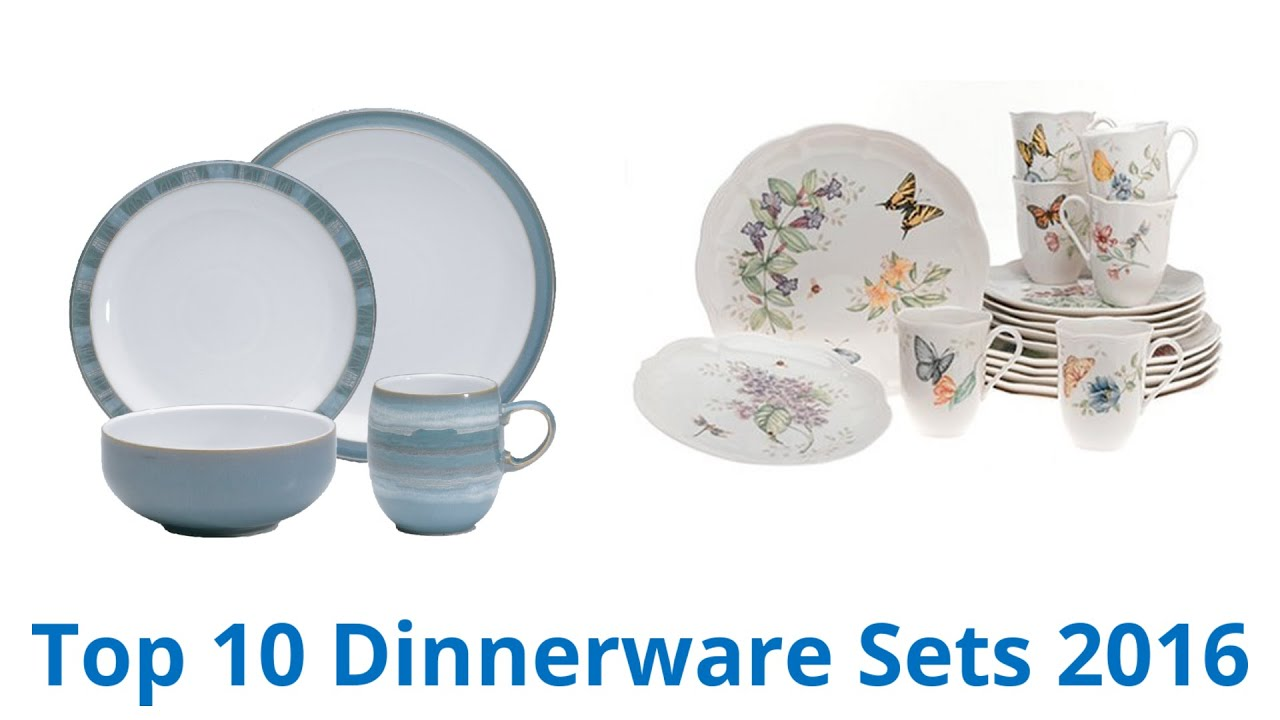 sc 1 st  YouTube & 10 Best Dinnerware Sets 2016 - YouTube
